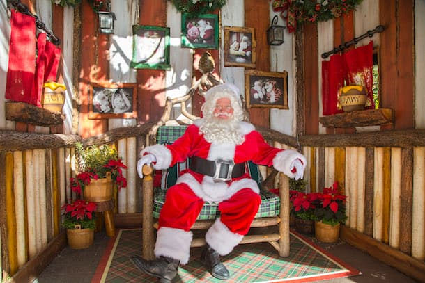 Visit Santa Claus at Redwood Creek Challenge Trail at Disney California Adventure Park