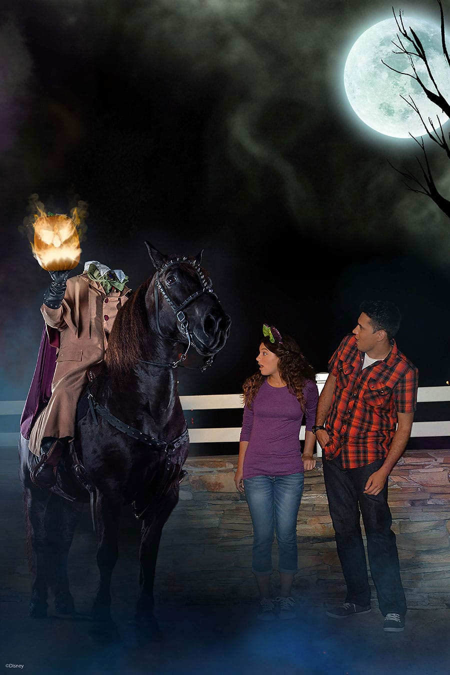 Image result for mickey's not so scary halloween headless horseman