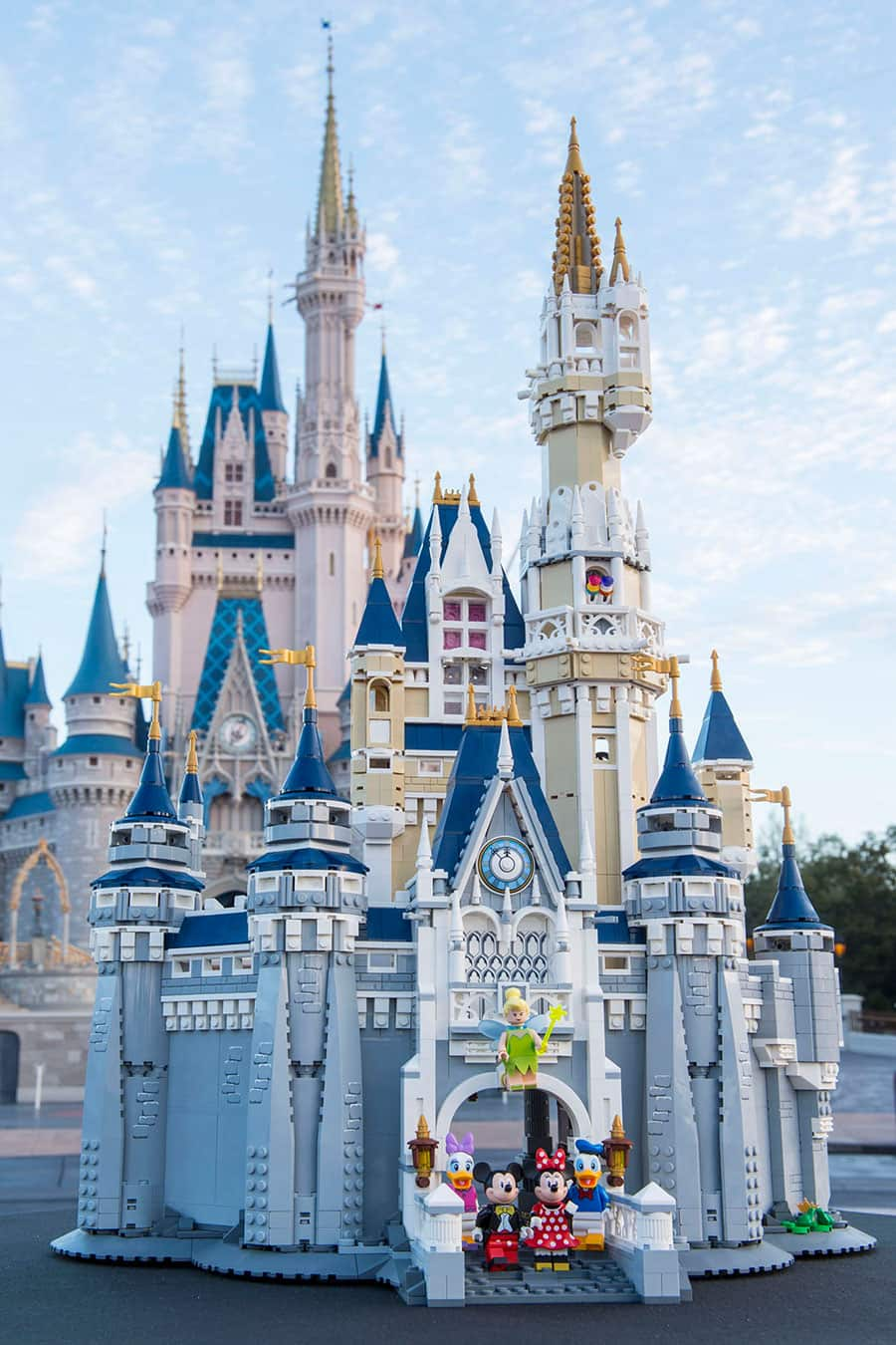 VIDEO - The Disney Castle by LEGO Now Available At Disney Parks