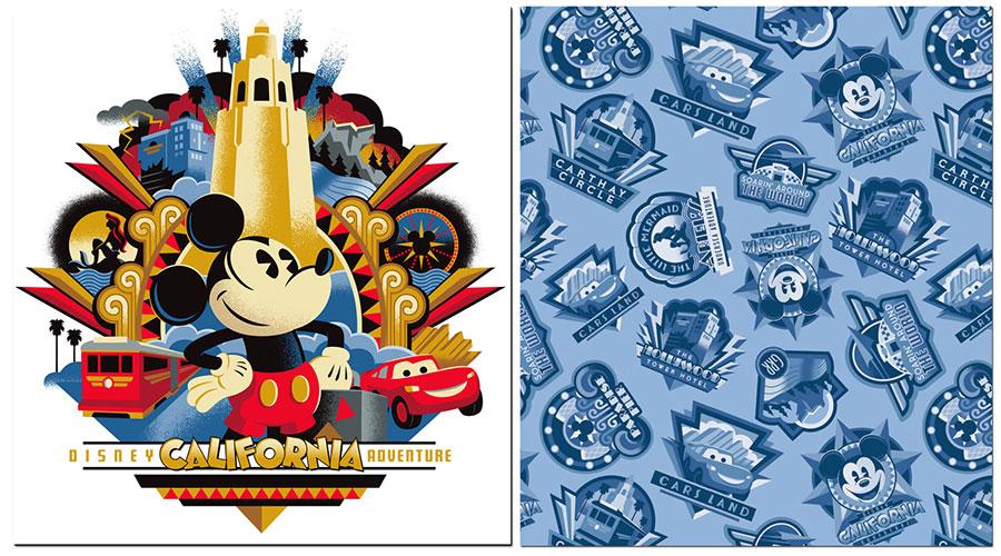 New Merchandise for Disney California Adventure Park Released at Disneyland Resort