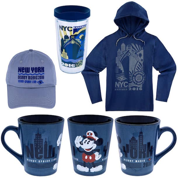 New Disney Cruise Line Merchandise for Sailings from the Big Apple in Fall 2016