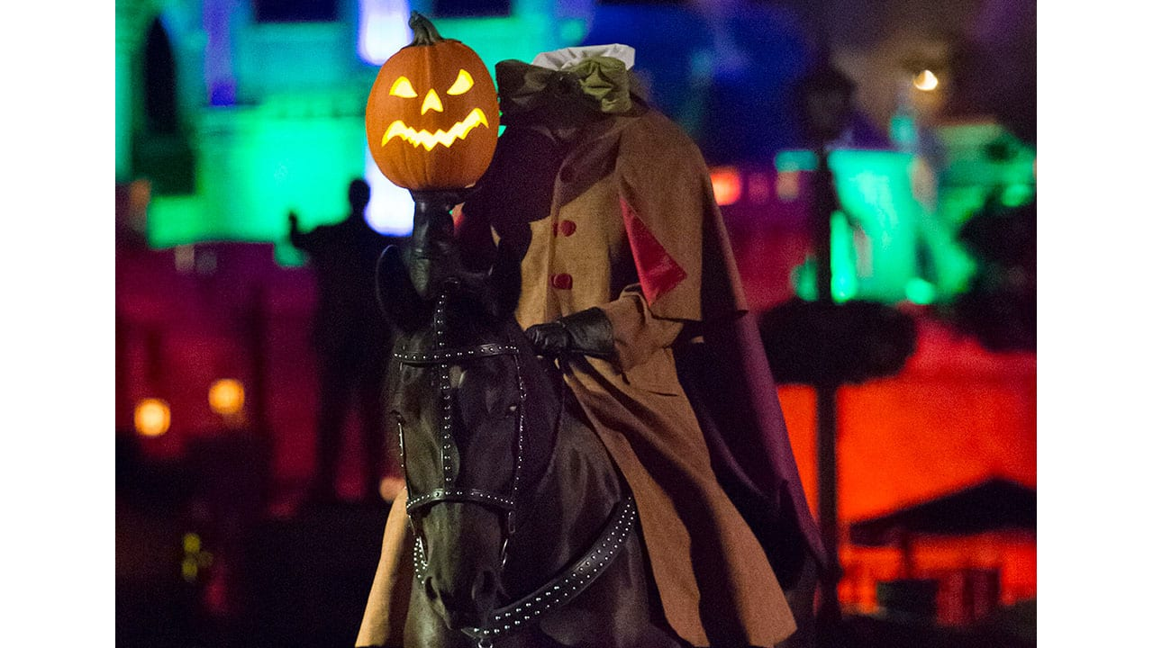 Behind the Scenes: Disneyland Resort Horses Train to Ride with Headless Horseman During Mickey's Halloween Party