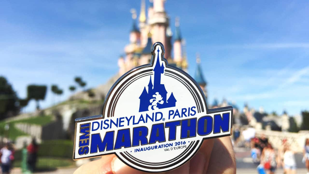 Merchandise for Inaugural Disneyland Paris – Val d'Europe Half Marathon Weekend