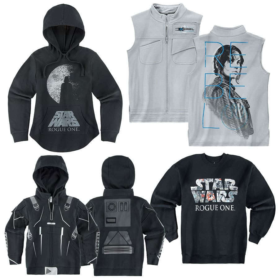 #GoRogue with Rogue One Merchandise Coming to Disney Parks on September 30