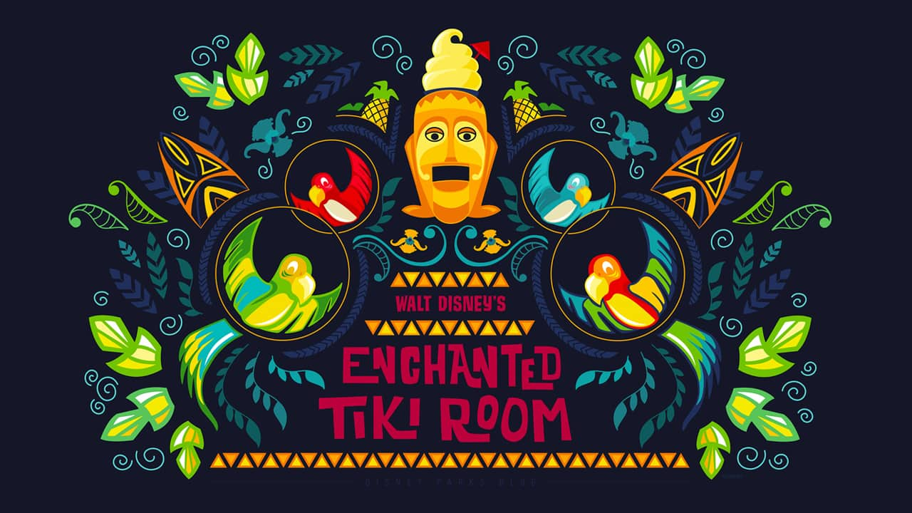 45th Anniversary Wallpaper Walt Disneys Enchanted Tiki