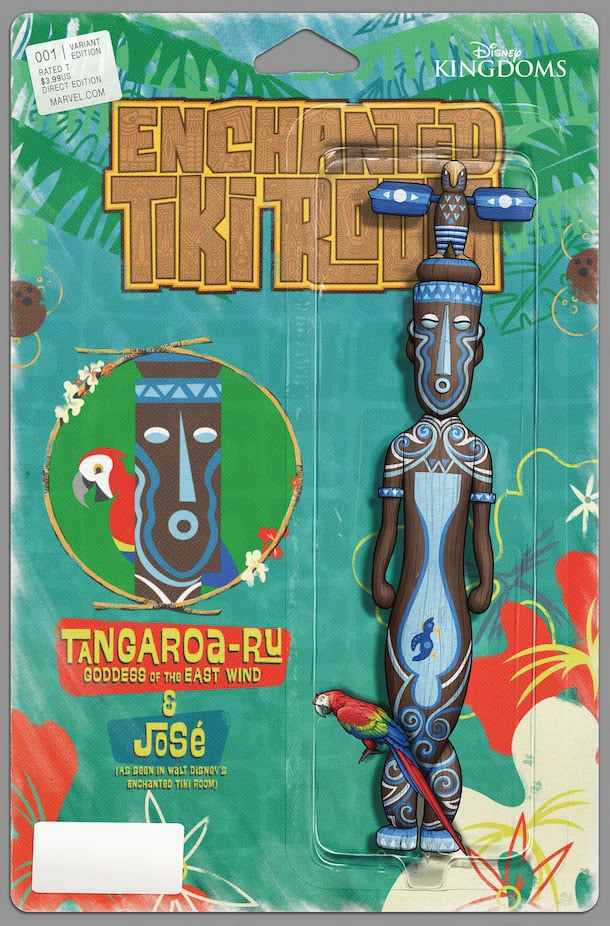 'Enchanted Tiki Room' Comic Series from Disney Kingdoms