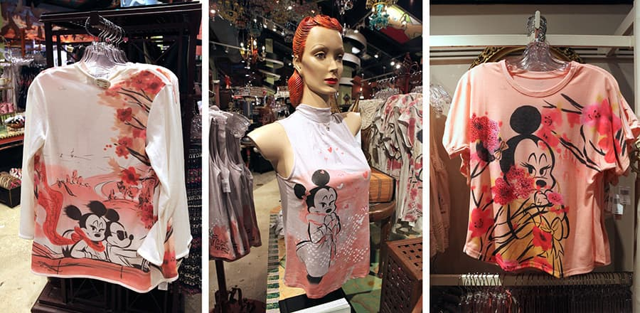 Disney Parks Fall Fashion Apparel