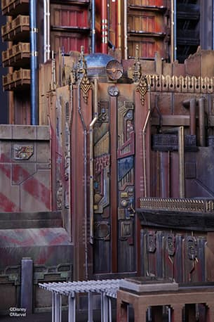 Collector's Fortress Transformation Underway Now as Guardians of the Galaxy - Mission: BREAKOUT! Prepares for Summer 2017 Opening at Disney California Adventure Park