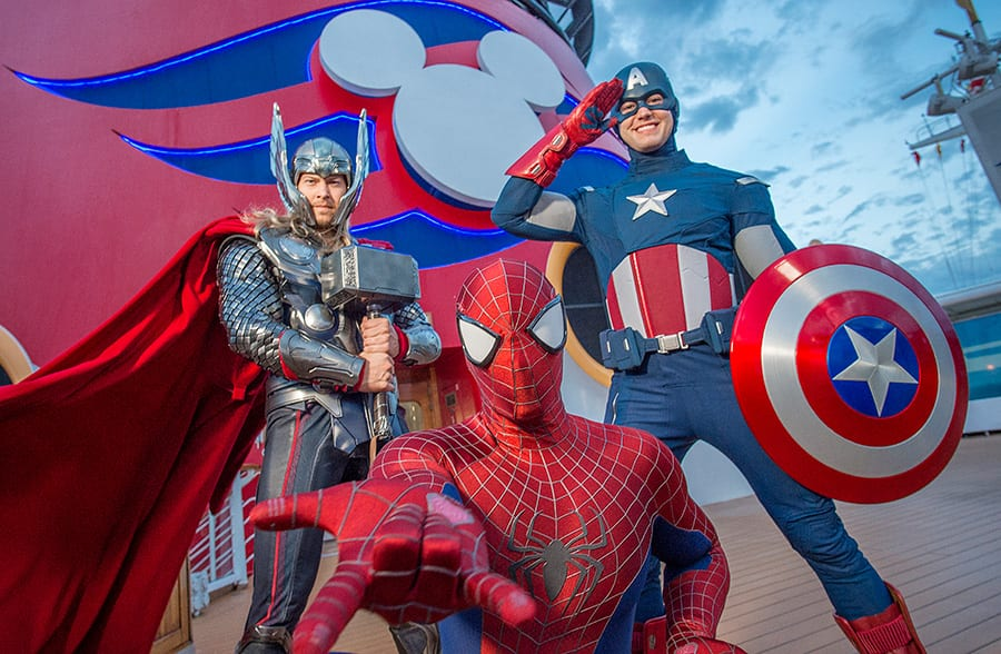 Marvel Day at Sea at Disney Cruise Line