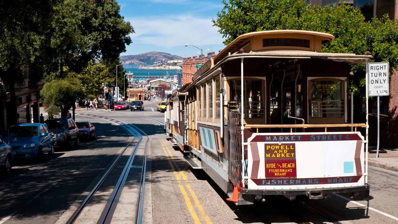 Adventures by Disney Long Weekend: Trolley in San Francisco