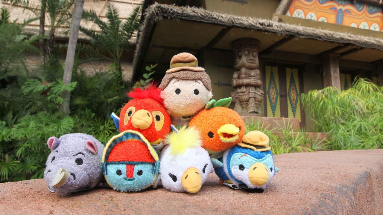 Discover Adventureland –Themed Disney Tsum Tsum at Disney Parks Starting October 11, 2016