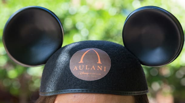 Personalized Mickey Mouse ear hats
