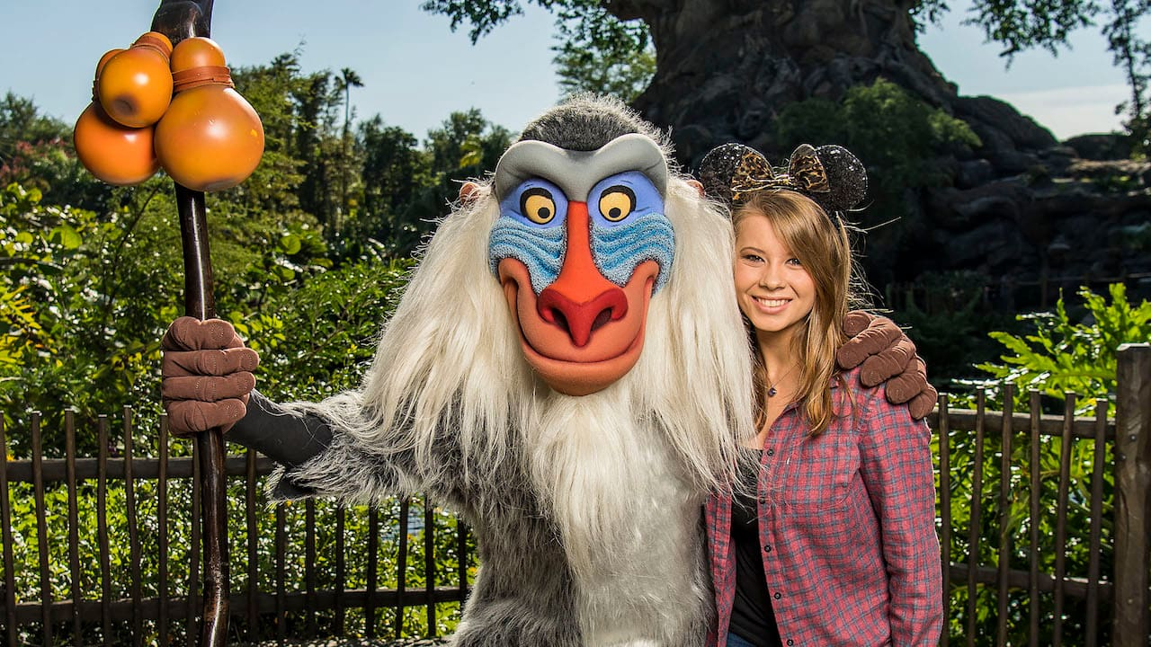 Wildlife Warrior Bindi Irwin & Boyfriend Chandler Powell Visit Disney's Animal Kingdom