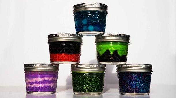 Halloween DIY: Disney Glitter Slime