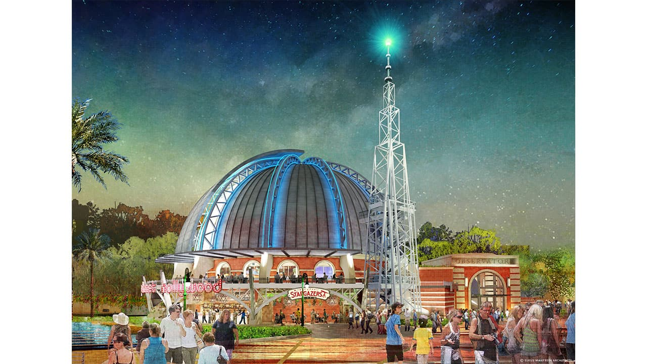 First Look at Stargazer Lounge at Planet Hollywood Observatory at Disney Springs