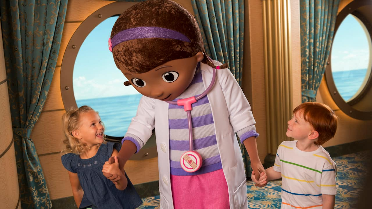 New Imaginative Spaces Bring Disney Stories to Life for Children on the Disney Wonder