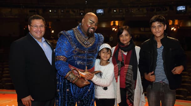 Disney Vacation Club Announces $25,000 Contribution to Make-A-Wish® at Member-exclusive Performance of Disney's Aladdin on Broadway