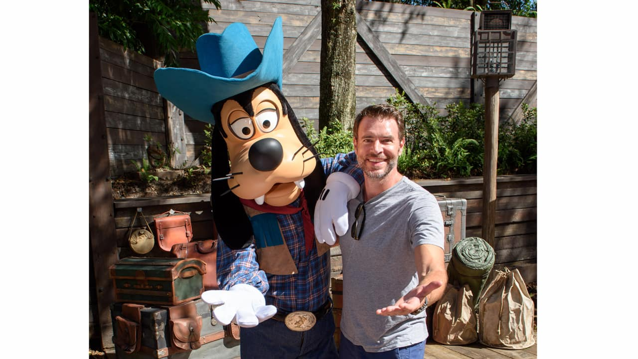 """ABC's """"Scandal"""" Star Scott Foley Visits """"The Chew"""" During the Epcot International Food & Wine Festival at Walt Disney World"""