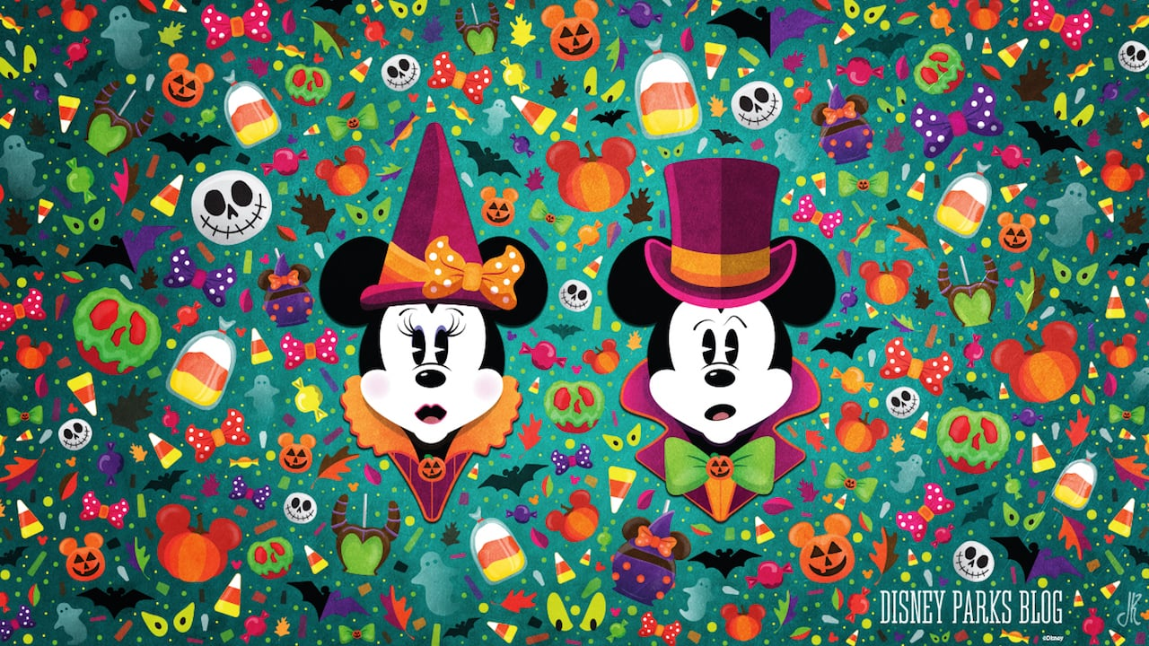 Celebrate A Wonderfalldisney With Our Halloween Wallpaper