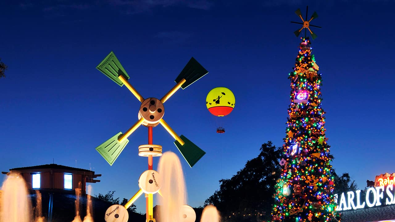 NEW! Disney Springs' Christmas Tree Trail Will Debut This Holiday Season