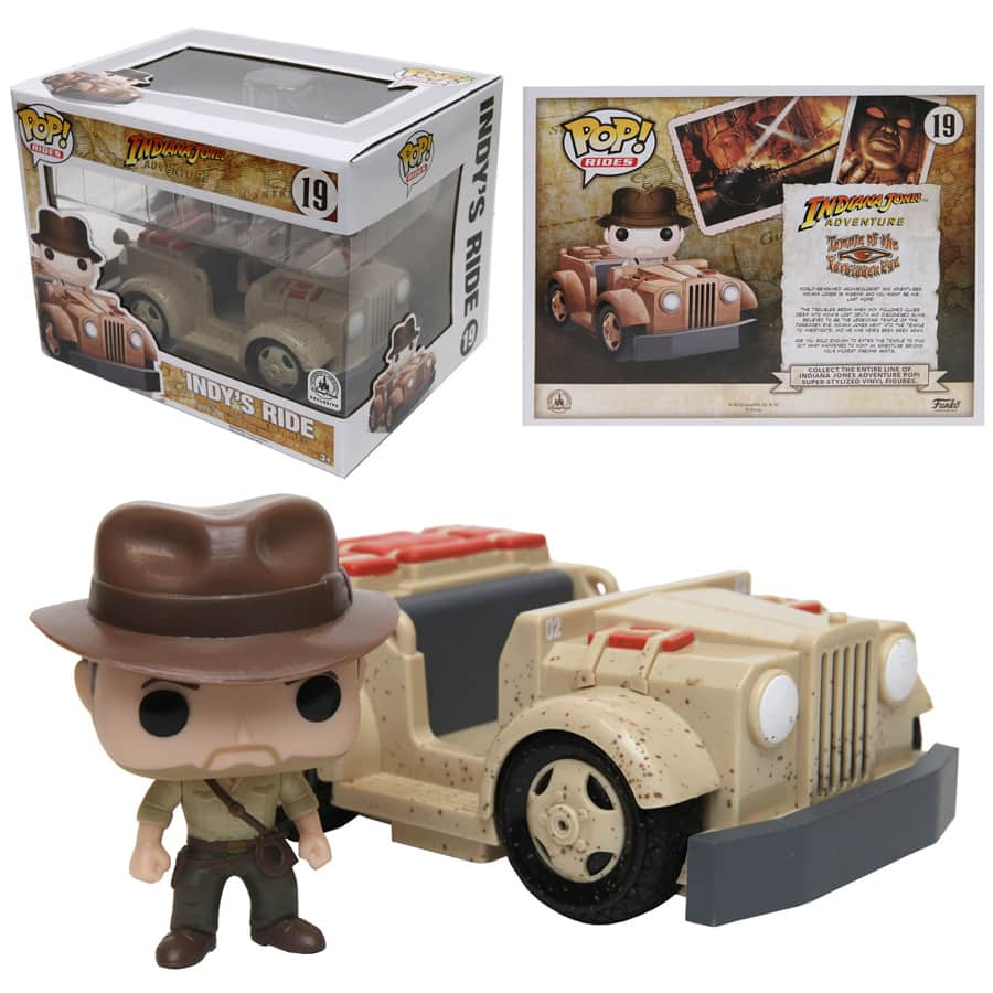 Indiana Jones Adventure-Inspired Funko Pop! Coming to Disney Parks Online Store on October 7