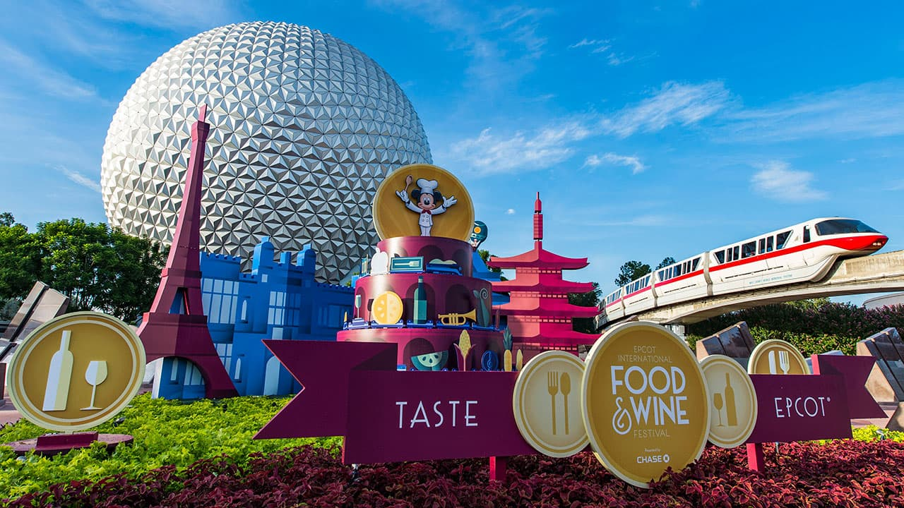 Behind the Scenes at the Epcot International Food & Wine Festival