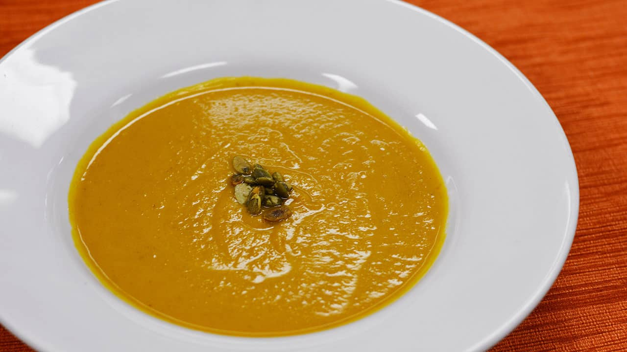 RECIPE: Pumpkin Soup from Sunshine Seasons at Epcot