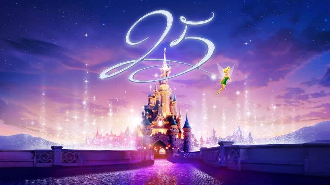 It is time to Celebrate – Disneyland Paris 25th Anniversary Coming in 2017