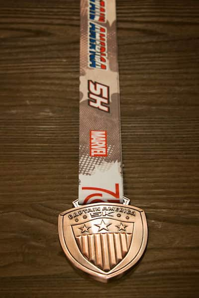 Captain America-Inspired Style for runDisney Super Heroes Half Marathon Weekend at Disneyland Resort