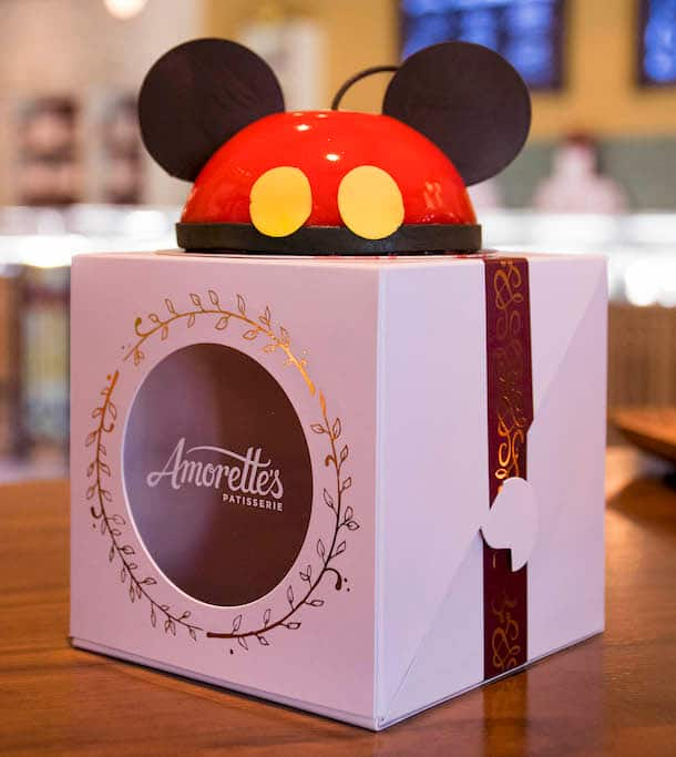 Mini Mickey Dome Cake from Amorette's Patisserie at Disney Springs