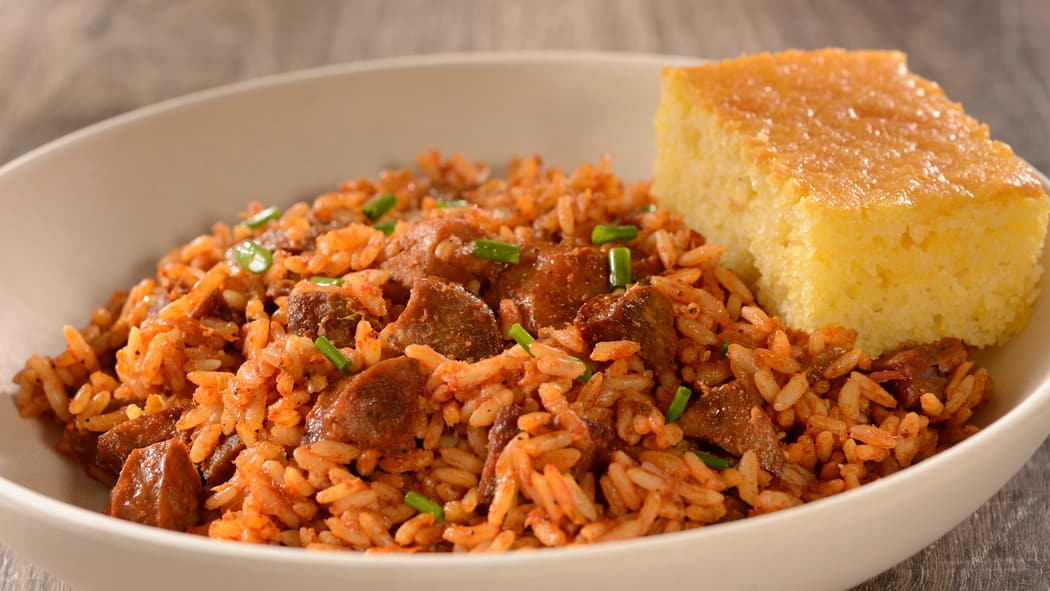 Jambalaya from Sassagoula Floatworks and Food Factory at Disney's Port Orleans Resort