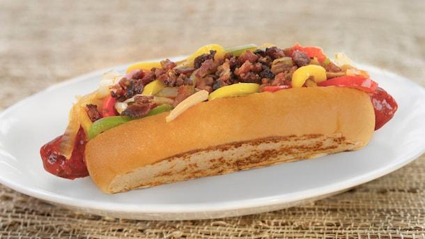 Bacon Street Dog from Award Wieners in Disney California Adventure Park