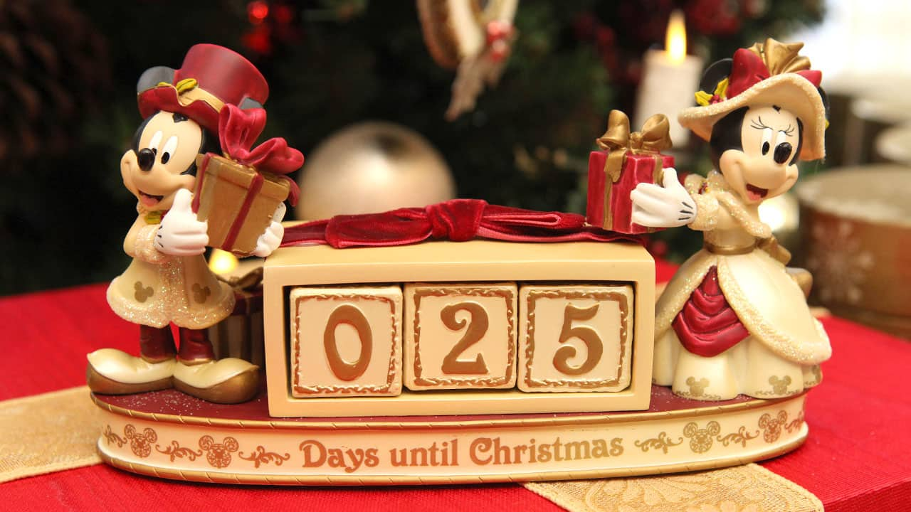 countdown to christmas with unique products and special deals from disney parks - Countdown Till Christmas Decoration