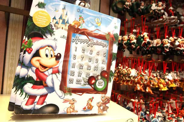 Countdown to Christmas with Unique Products and Special Deals from Disney Parks