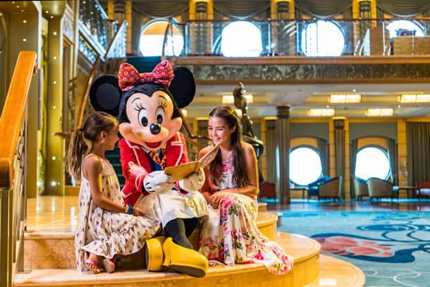 Five Reasons to Burst with Excitement about Your Disney Cruise - Characters