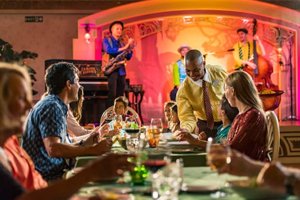 Five Reasons to Burst with Excitement about Your Disney Cruise - Dining - Tiana's Place
