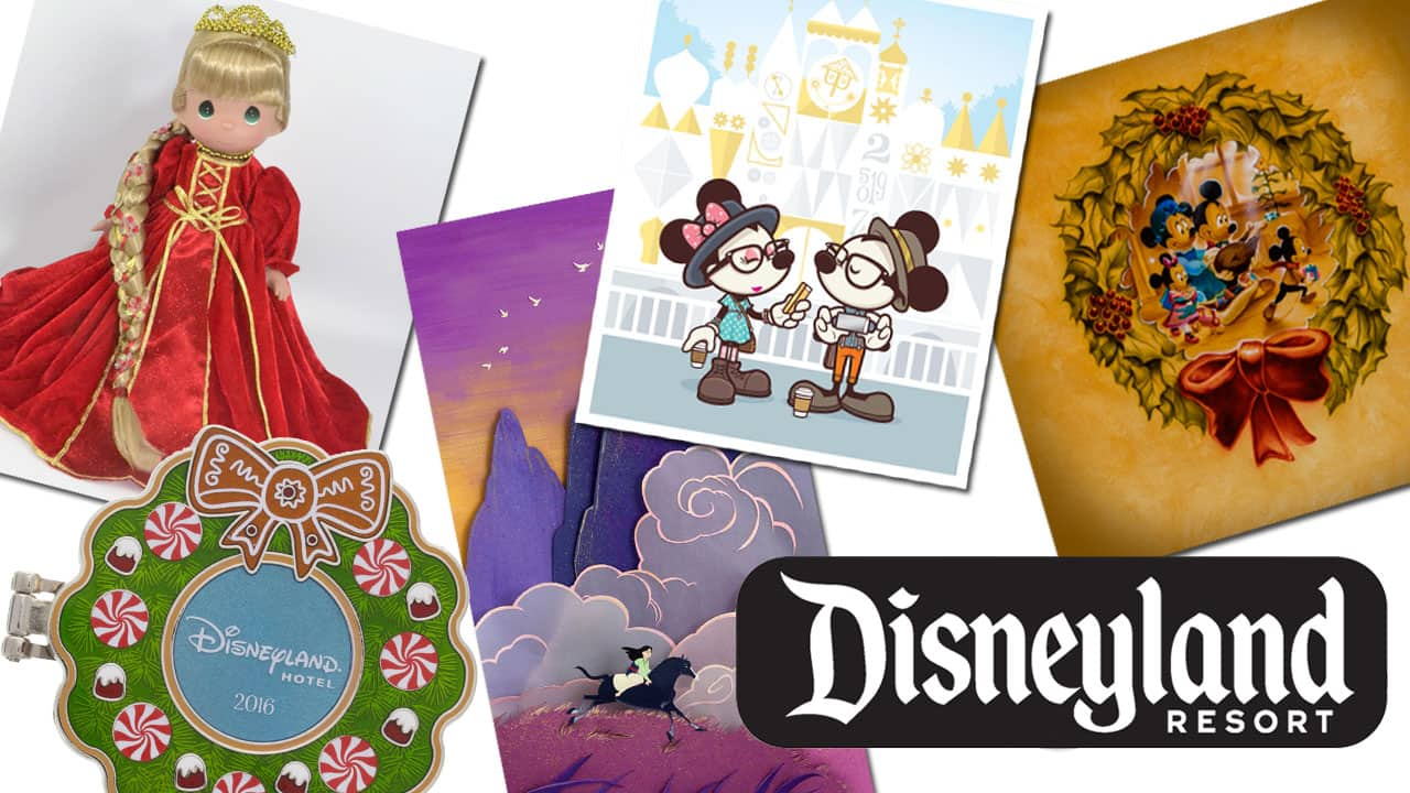 December 2016 Disneyland Resort Merchandise Events