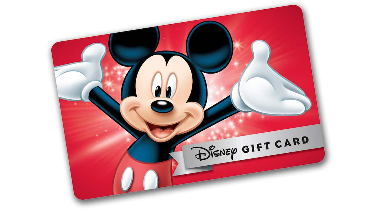 The Disney Giftcard eCard