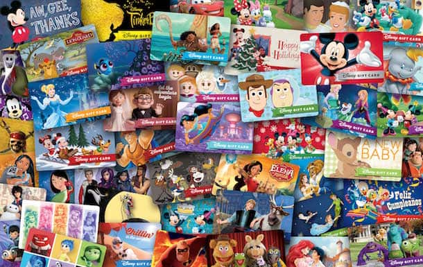 The Disney Giftcard eCard