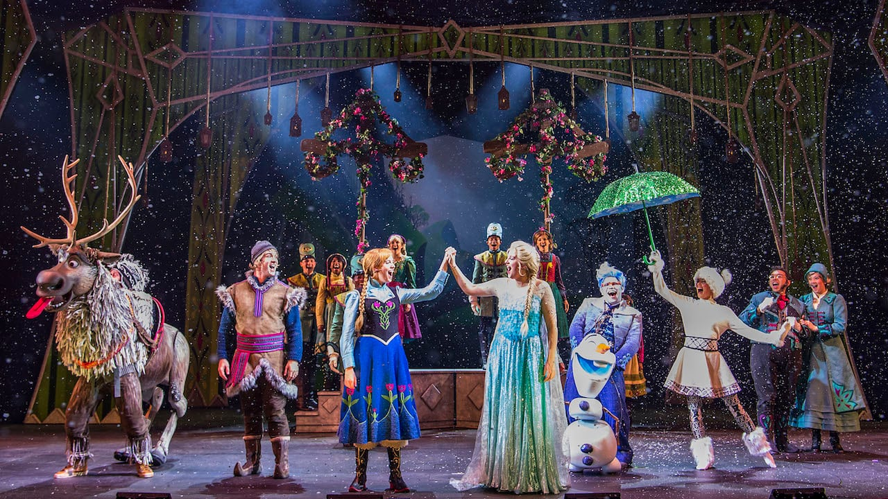 'Frozen, A Musical Spectacular' Premieres Aboard the Disney Wonder