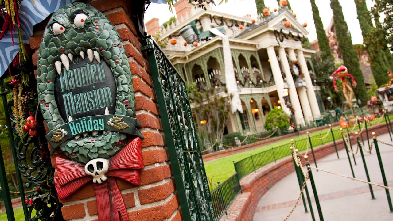 Image result for haunted mansion holiday