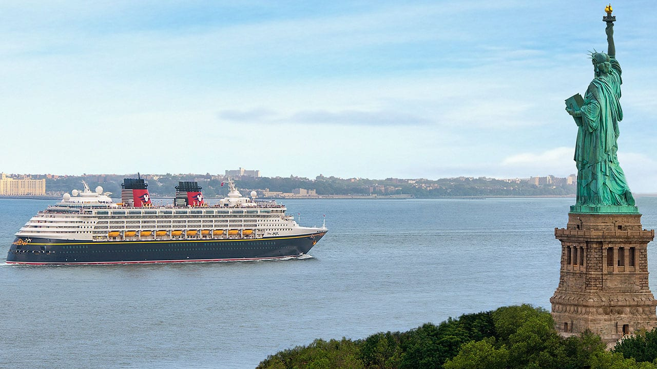 Disney Magic Says See You Real Soon To New York City