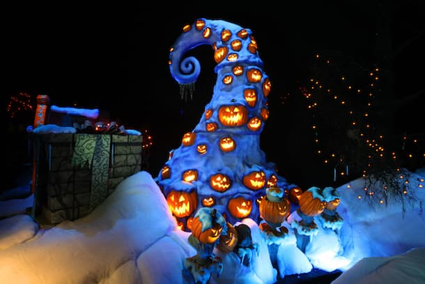 haunted mansion holiday - Haunted Mansion Nightmare Before Christmas