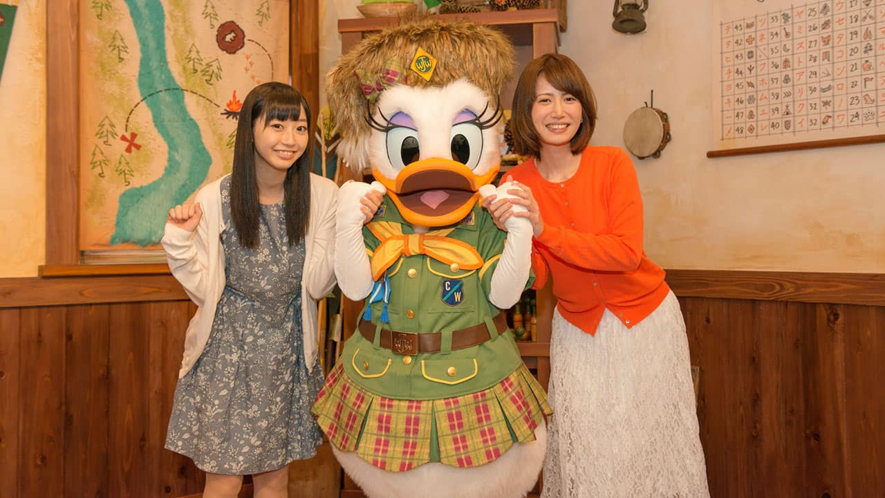 Donald Duck Invites Guests to Camp Woodchuck at Tokyo Disneyland