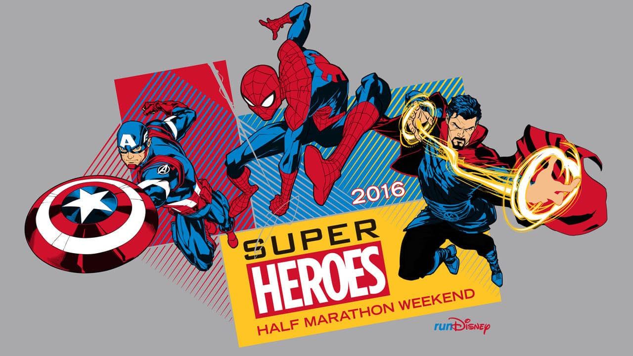 runDisney Super Heroes Half Marathon Merchandise
