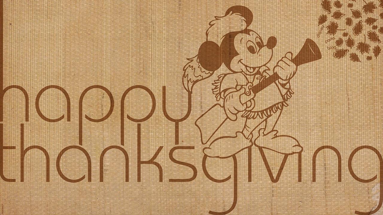 Enjoy Three Disney Parks Blog Thanksgiving Wallpapers Disney Parks Blog