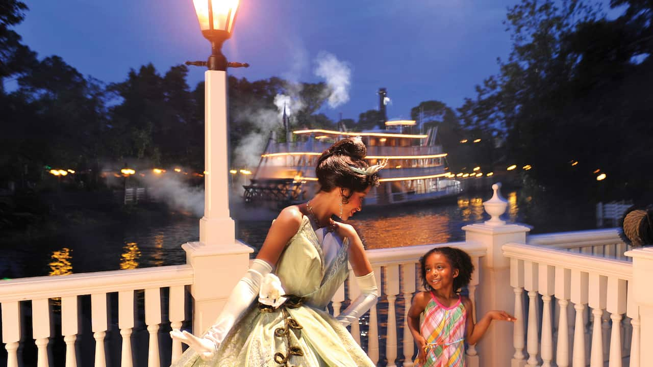 Tiana's Riverboat Party Ice Cream Social & Parade Viewing Launches At Magic Kingdom Park Nov. 29