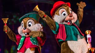 """Mickey's Most Merriest Celebration"""" at Mickey's Very Merry Christmas Party"""