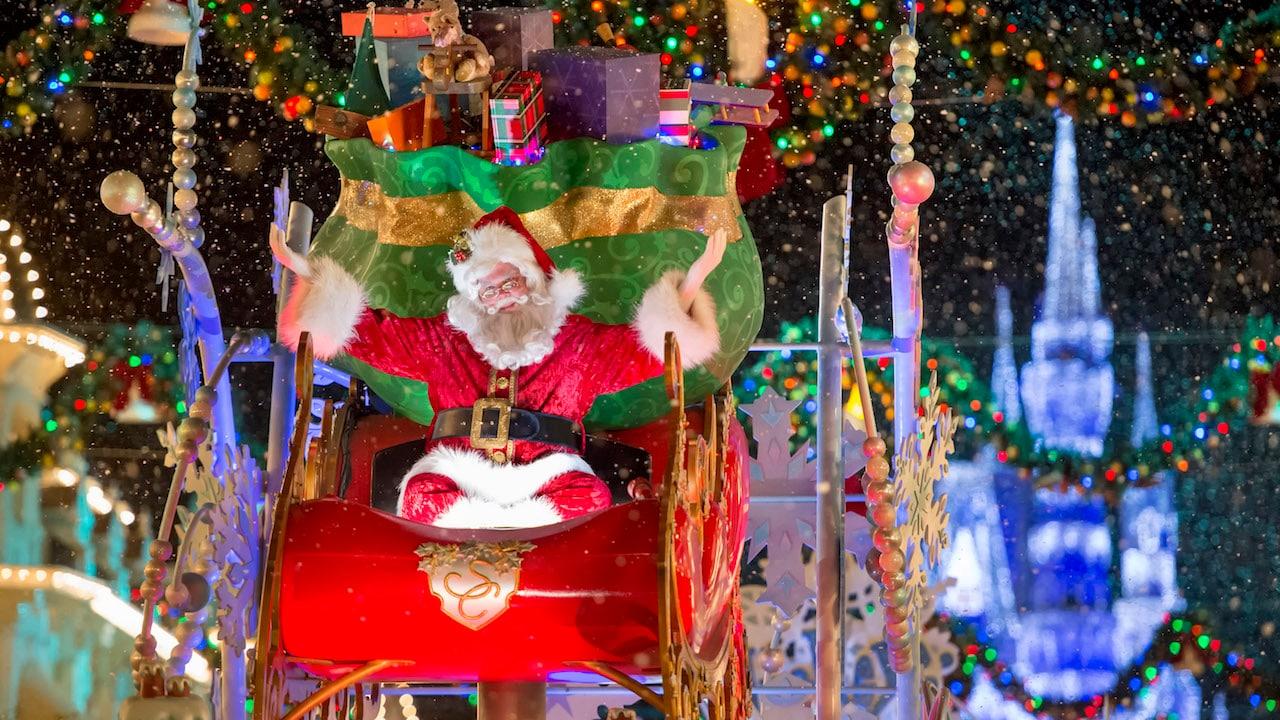 Where to See Santa at Walt Disney World Resort