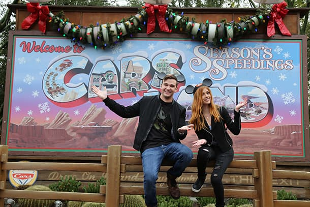 Disneyland Resort was Beyond Magical with Burkely Duffield from Freeform's 'Beyond' and Katherine McNamara from 'Shadowhunters'